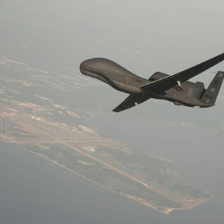 The Triton unmanned aircraft is designed to fly surveillance missions up to 24-hours at high altitudes.