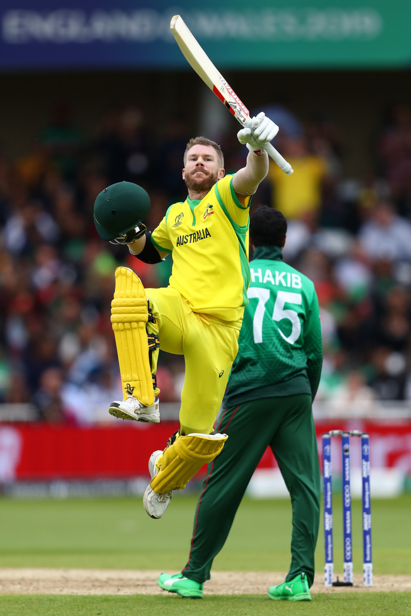 History Making Warner Stars As Australia Record Another