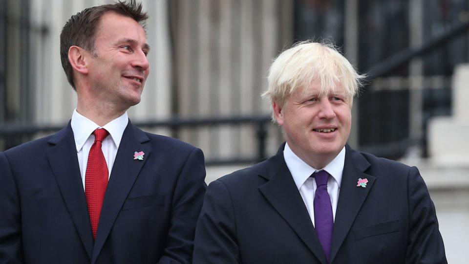 boris johnson Jeremy hunt UK