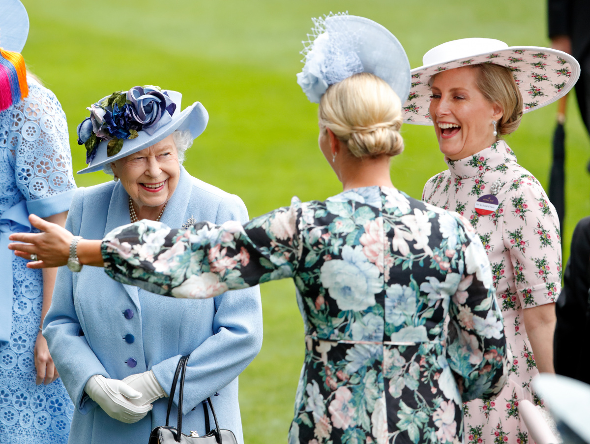 Zara Tindall The Queen Sophie Wessex