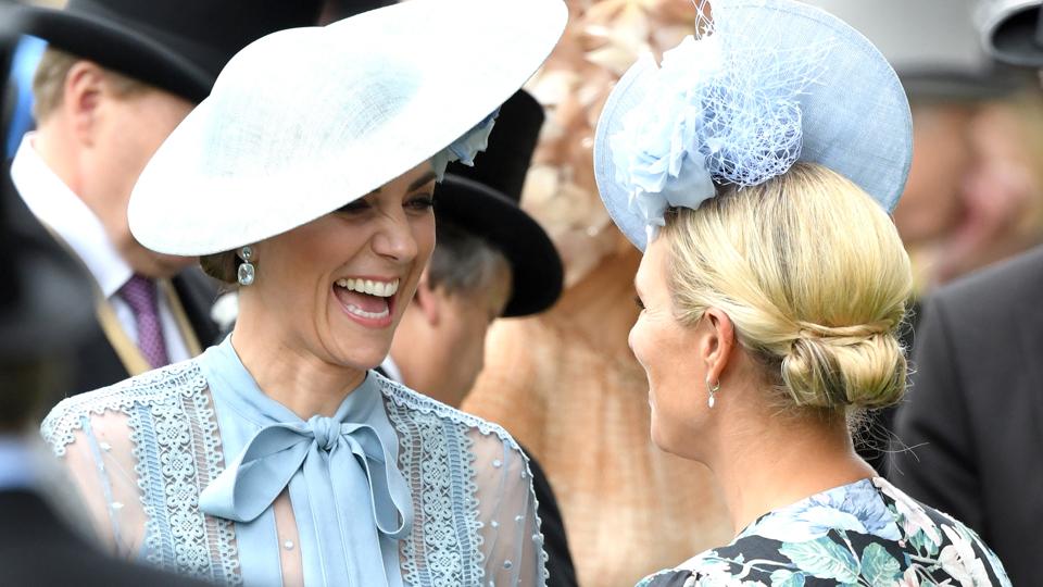 Kate Middleton Zara Tindall Royal Ascot