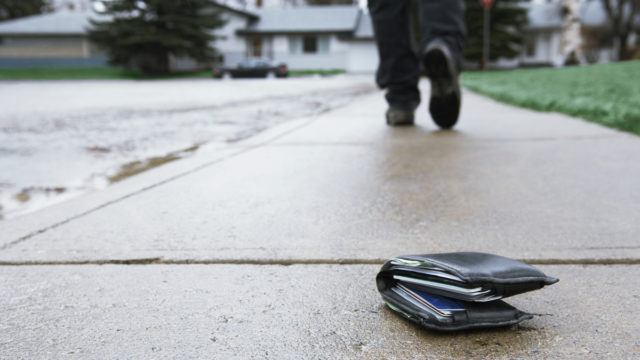 Would you return a lost wallet? New study's surprising findings