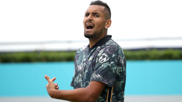 Nick Kyrgios fined for unsportsmanlike meltdown