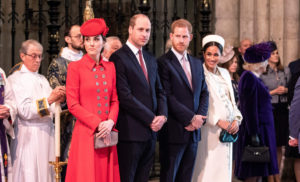 Kate Middleton Prince William Prince Harry Meghan Markle March 11