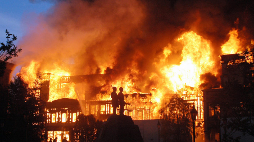 Over 500,000 recordings were lost in the fire