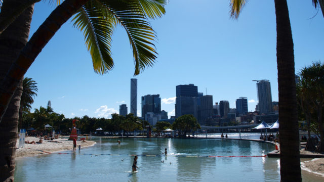Come on in, the water's lovely – and so is Brisbane in the winter.
