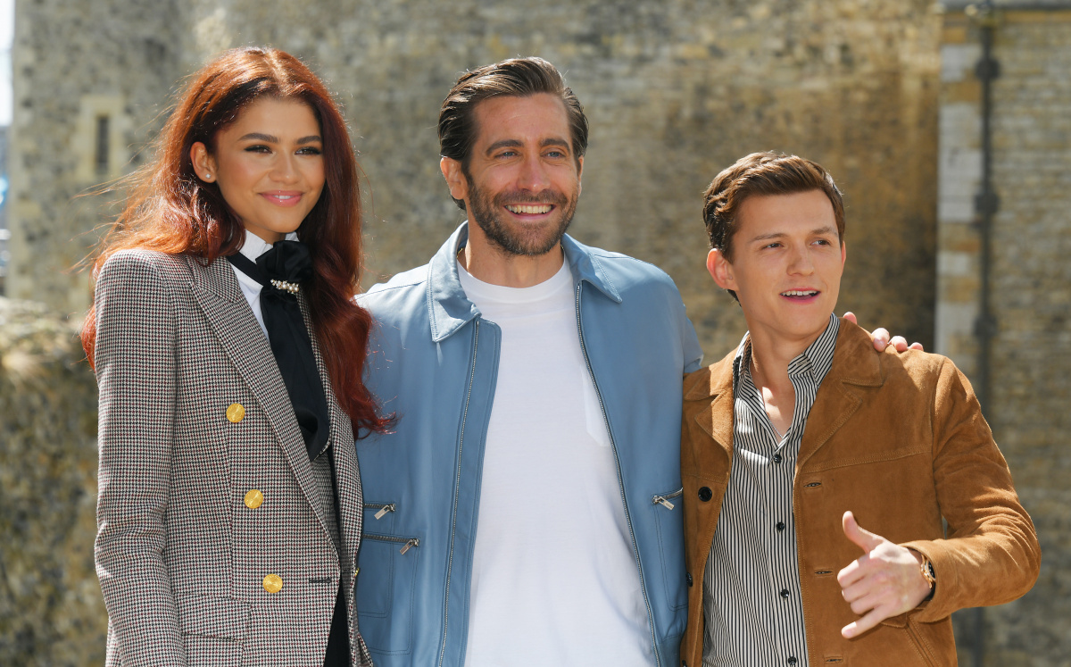 Zendaya Jake Gyllenhaal Tom Holland June 17