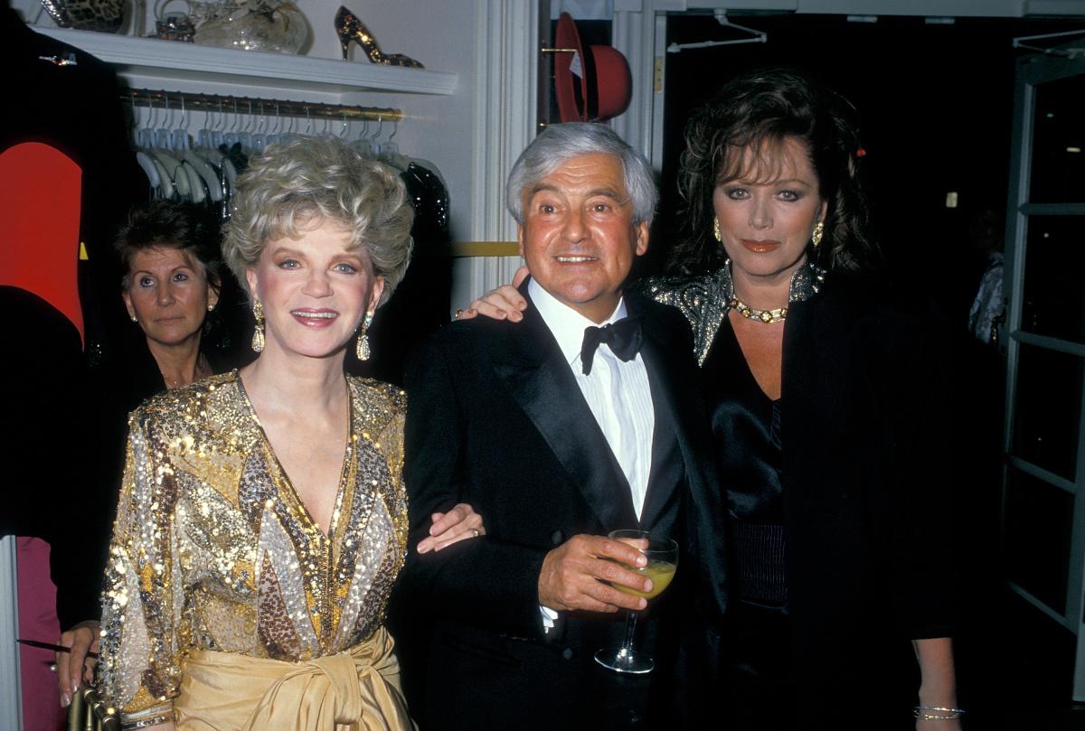 Judith Krantz Fred Hayman Jackie Collins 1988
