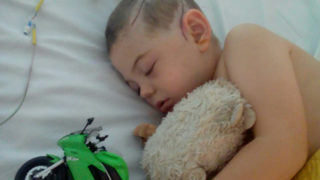 One dad determined to demonstrate the injustice has set up a donation page for his young son.