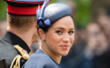 Meghan Markle Prince Harry Trooping the Color