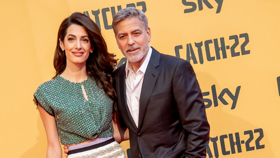 George Clooney Amal Clooney Rome May 13