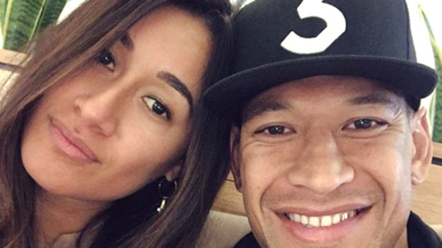 'I am forever grateful': Israel Folau thanks donors