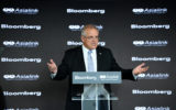 Scott Morrison used his first foreign policy speech to try and calm escalating tensions between China and the US.