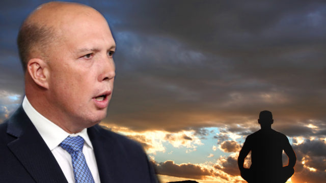 Peter Dutton keeping zen through pressures amid fresh eligibility controversy