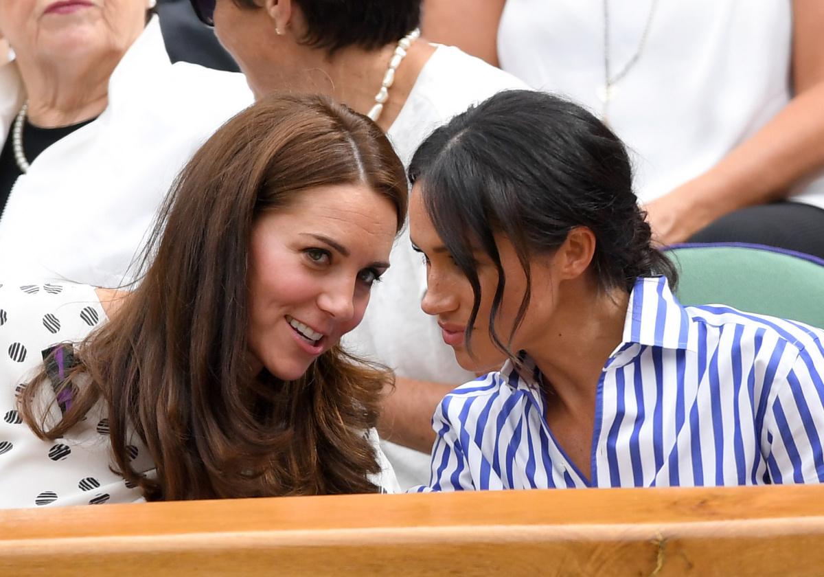 Duchess of Cambridge Duchess of Sussex Wimbledon 2018