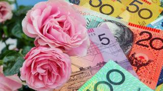 Rosy money.