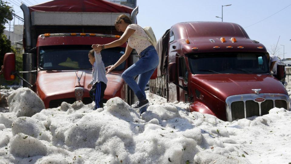 mexico hail storm