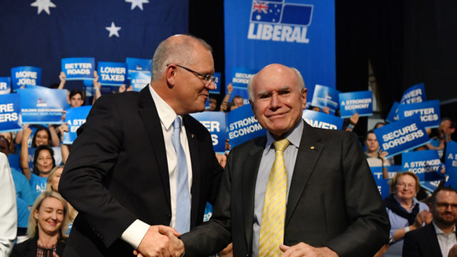 Scott Morrison has proved he can ape John Howard, but he'll also need the former PM's luck