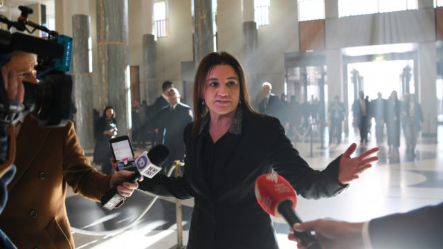 Outspoken Senator Jacqui Lambie is back — and she's a big deal