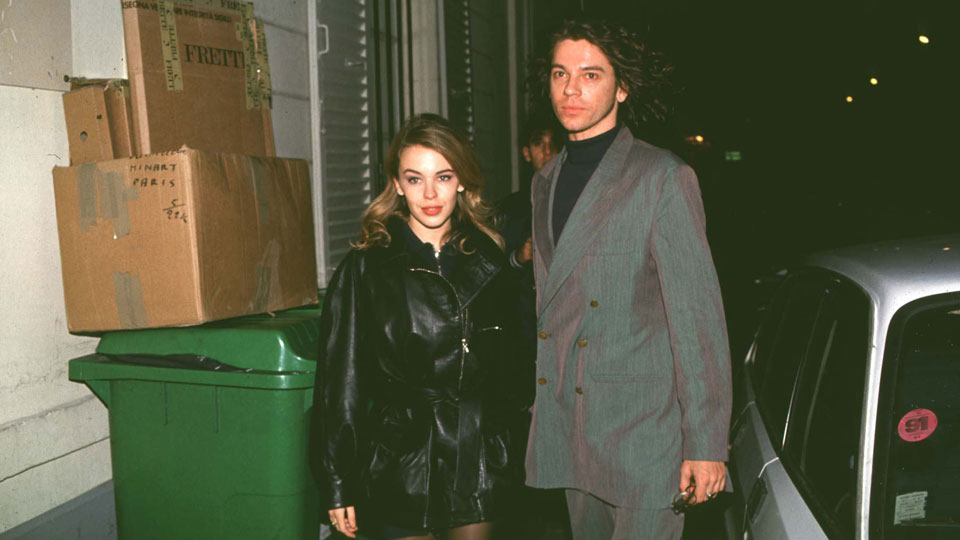 Kylie Minogue Michael Hutchence 1992