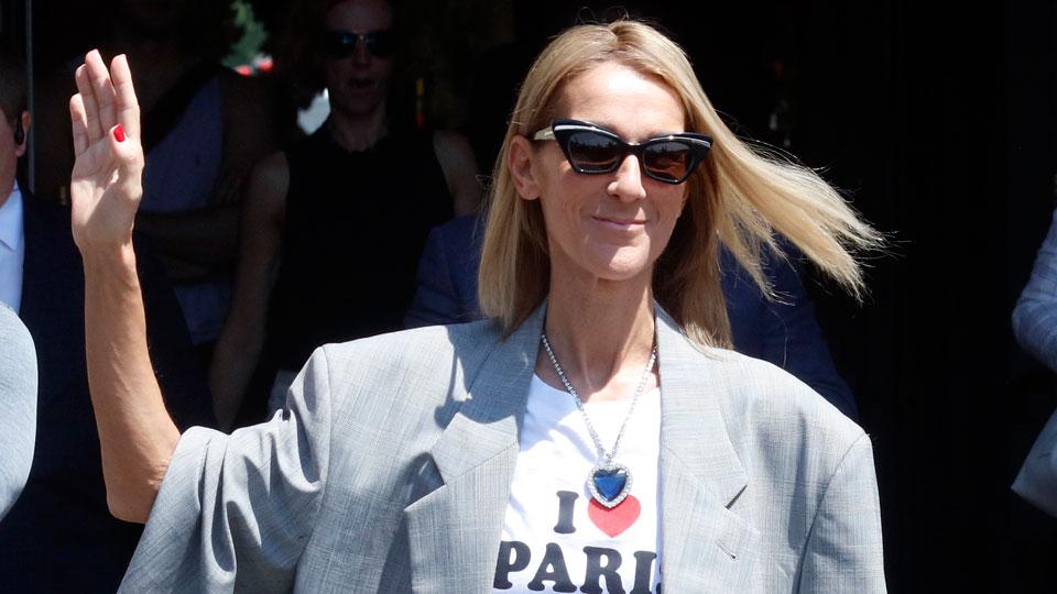 Celine Dion Paris July 3
