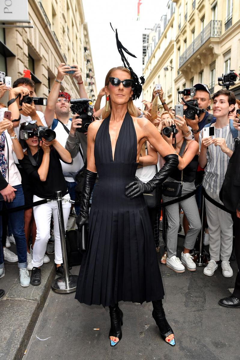 Celine Dion Paris