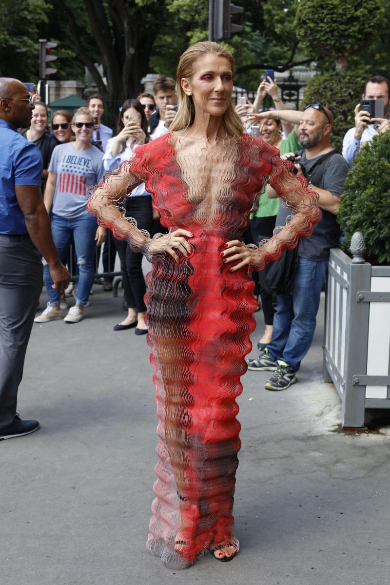 Celine Dion Paris July 1
