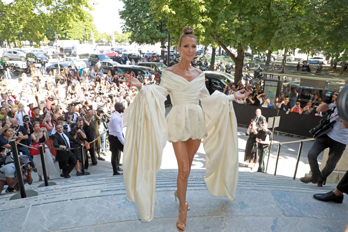 Celine Dion Paris July 2