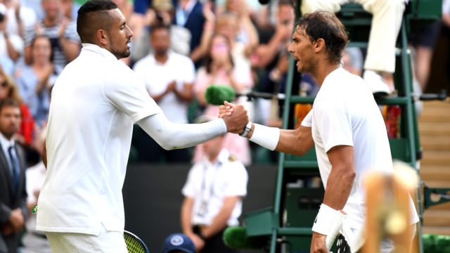 Confident Kyrgios can't wait to get 'inside Nadal's head'