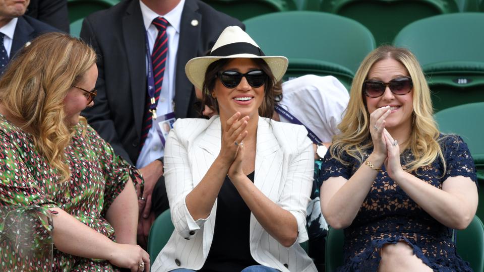 Meghan Markle Wimbledon July 4