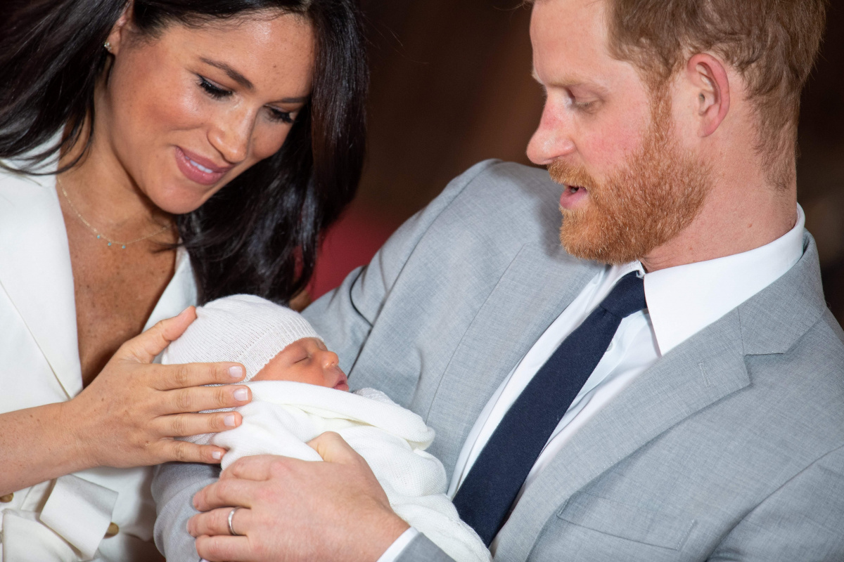 Meghan Harry Archie May 7