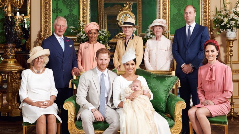 Archie's christening