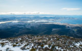 Despite the chill conditions, Hobart did not rank in the top ten coldest places to live.