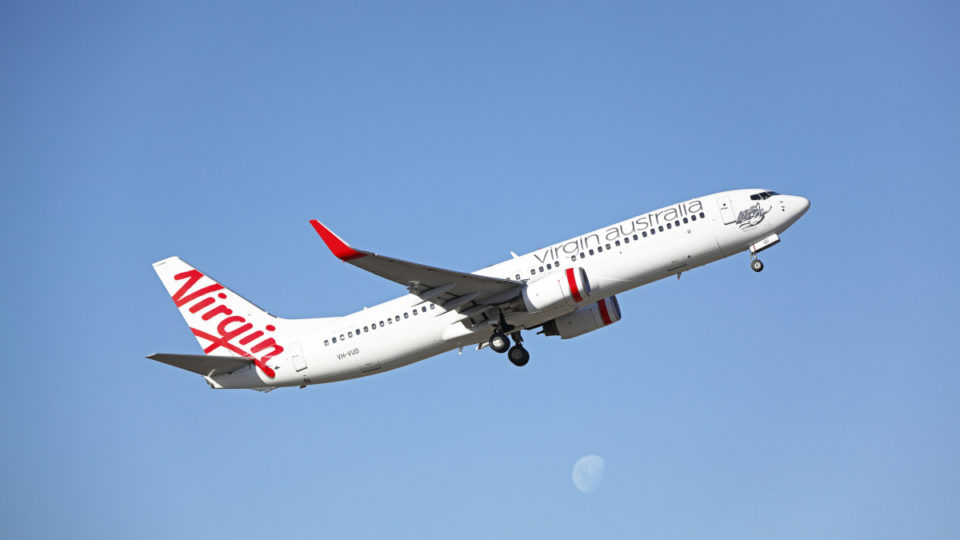 virgin australia in financial strife