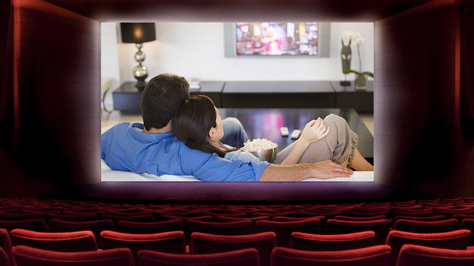 Empty movie theatres