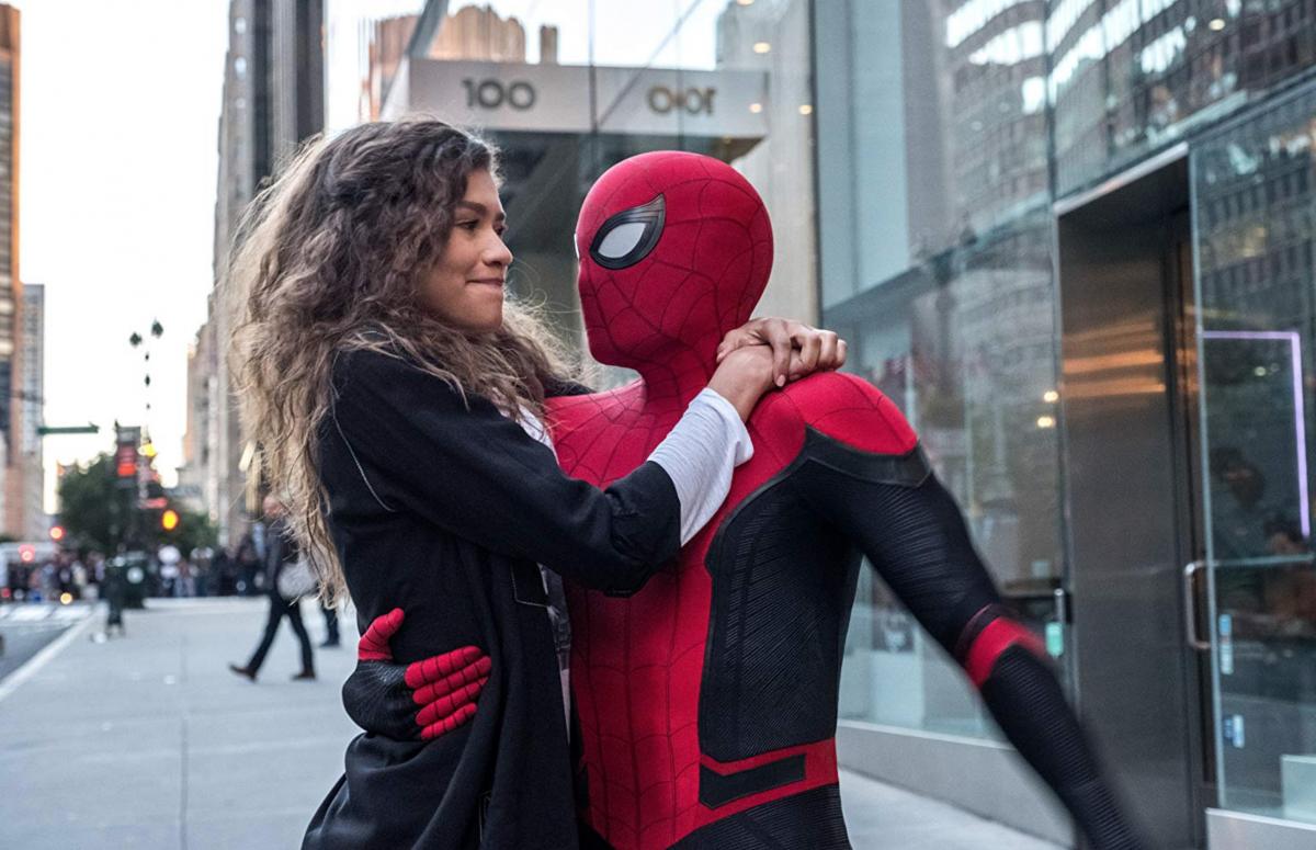 Zendaya Tom Holland Spider-Man