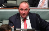 "Barnaby Joyce has declared the idea Australia can stop climate change as ""barking mad."""
