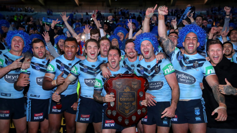 Late James Tedesco try seals State of Origin series for NSW