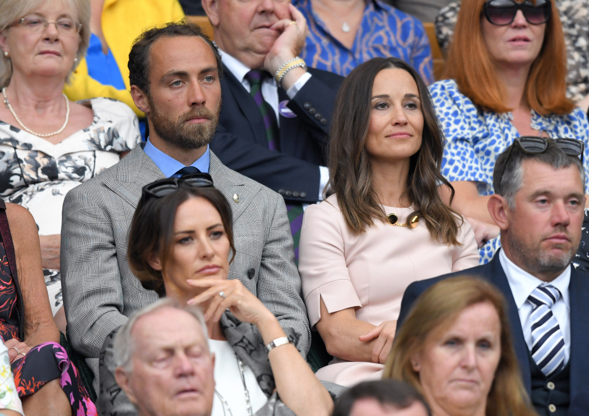 James Middleton Pippa Middleton Wimbledon 2019