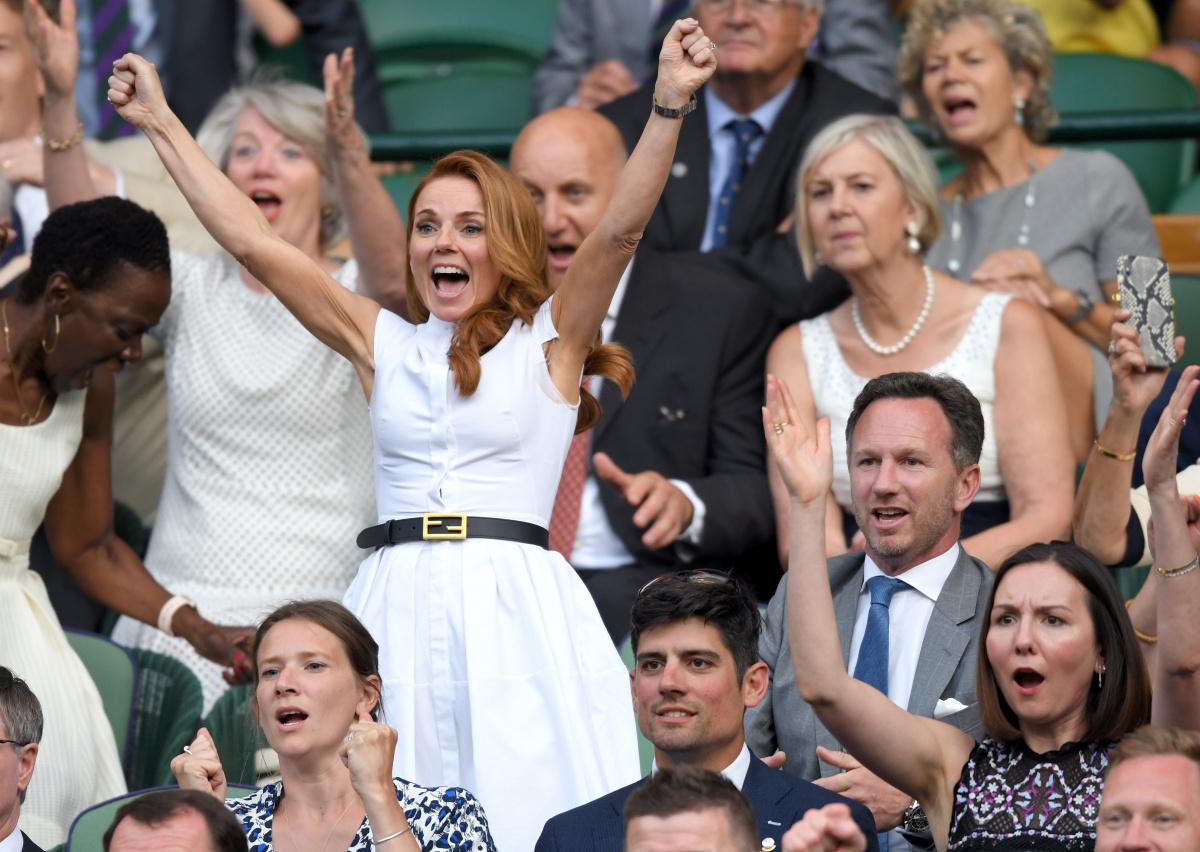 Geri Horner Wimbledon 2019