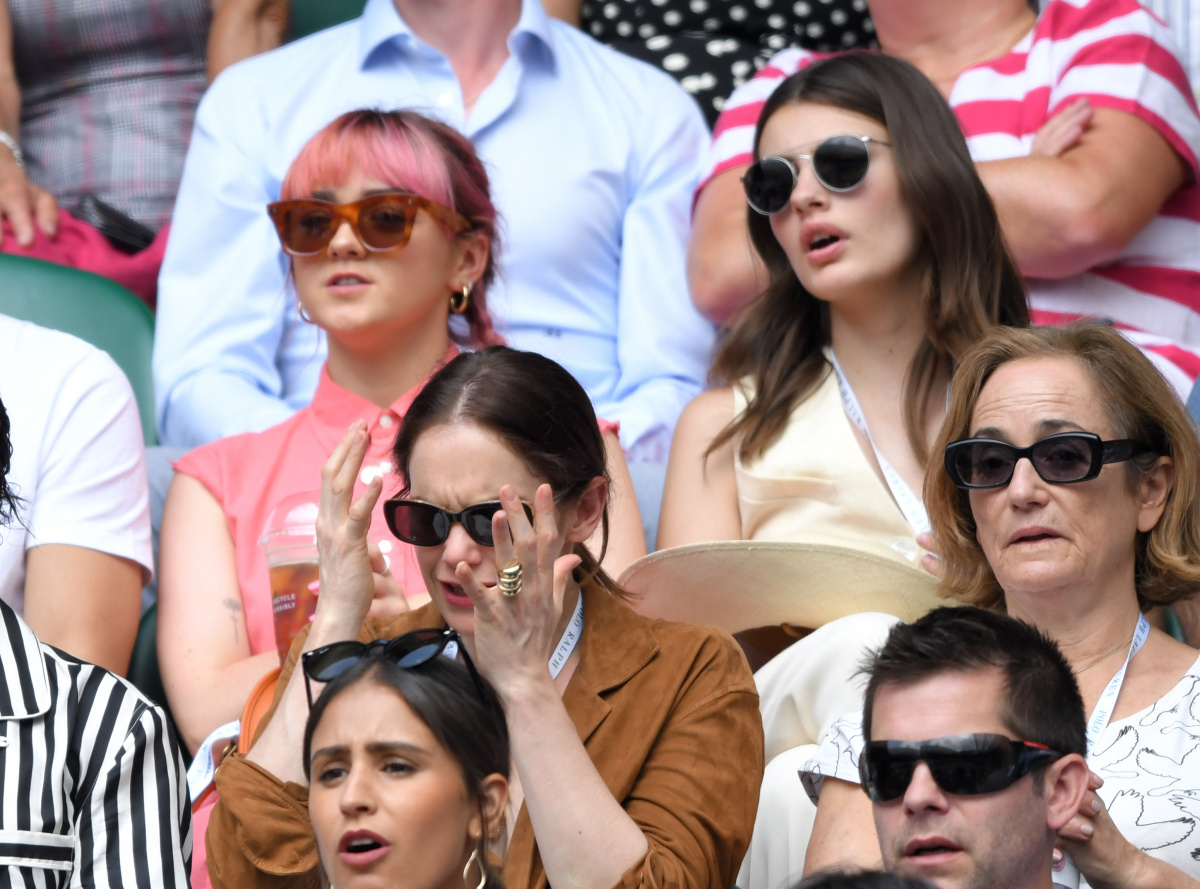 Maisie Williams Ruth Williams Wimbledon 2019