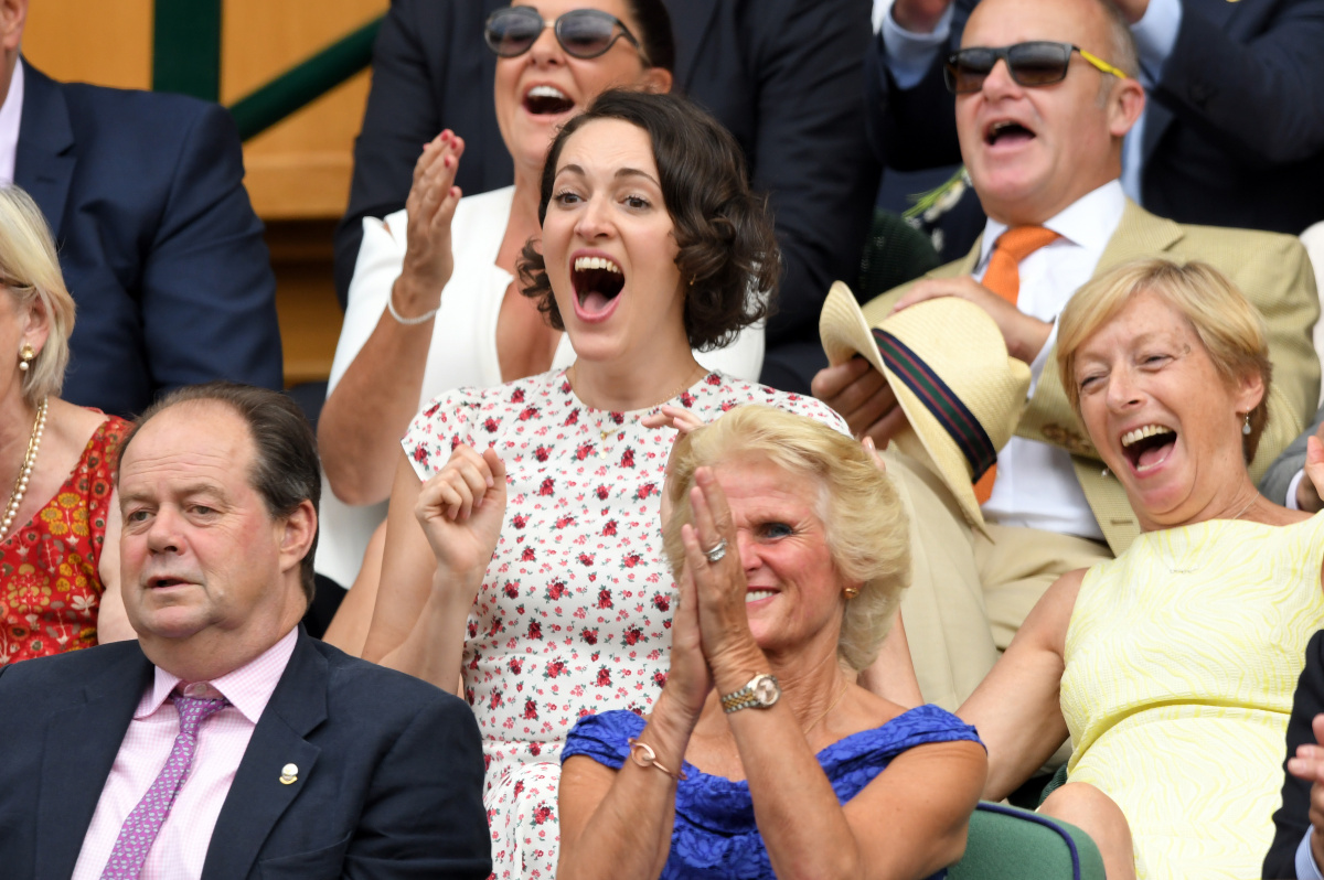 Phoebe Waller-Bridge Wimbledon 2019
