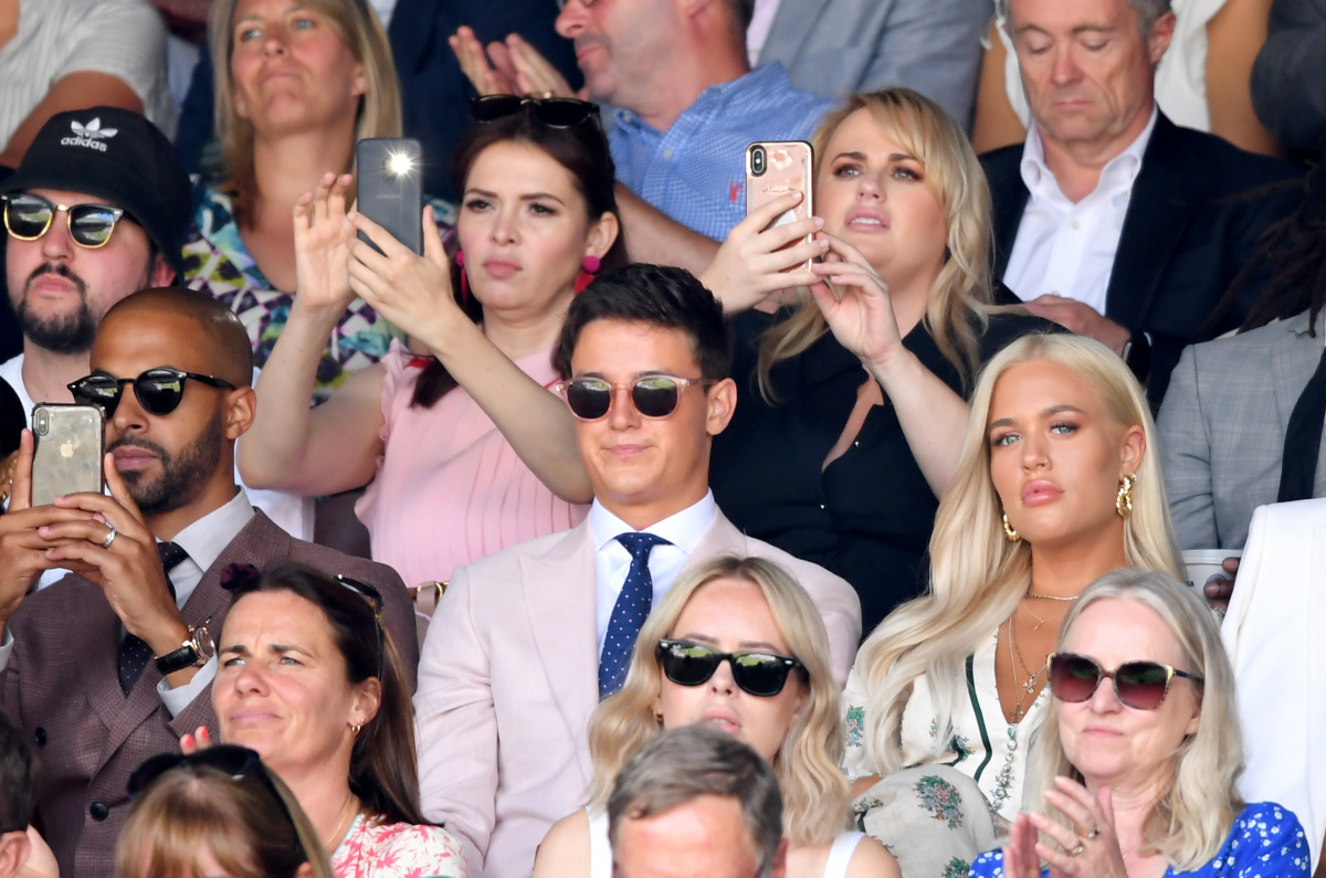 Carly Steel Rebel Wilson Wimbledon 2019