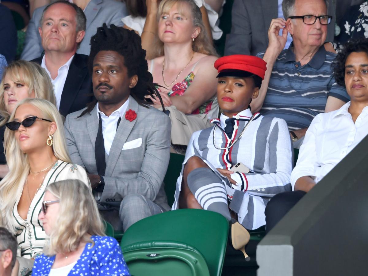 Janelle Monae Wimbledon 2019