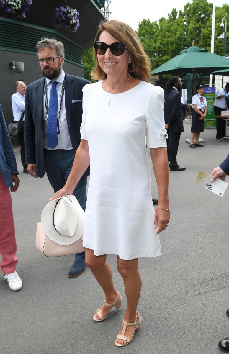 Carole Middleton Wimbledon 2019