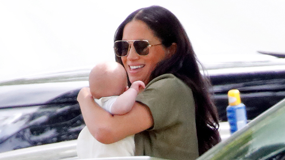 Meghan Markle Archie July 10 polo