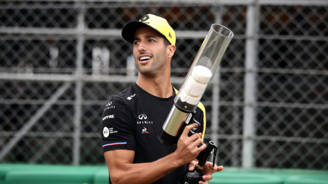 Formula One: Ricciardo's the king of comedy at Silverstone