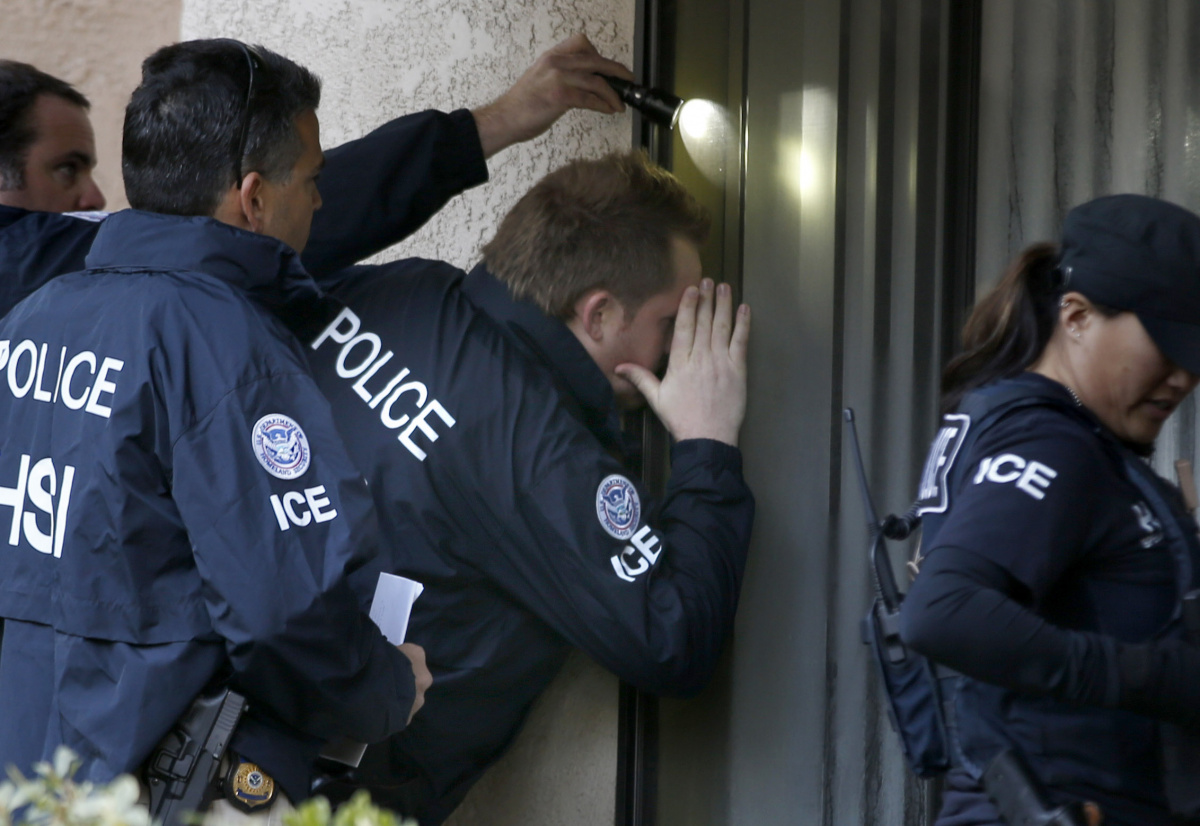 ICE agents cannot forcibly enter a home. Photo: Getty