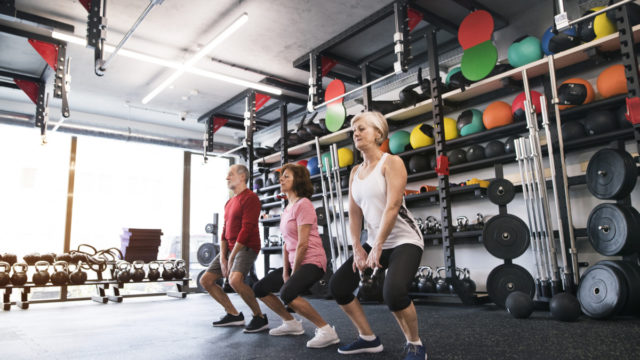 Sarcopenia affects up to a third of older adults, but we can protect ourselves from it