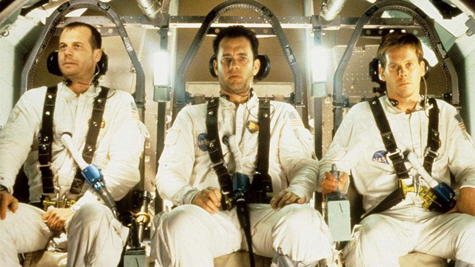 Bill Paxton Tom Hanks Kevin Bacon Apollo 13